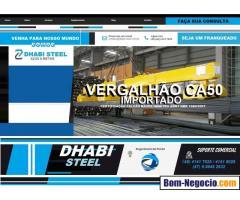 Comercio de Barra de ferro CA50 Importado