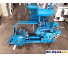 compressor madef 3c 11 x 8 com base e motor