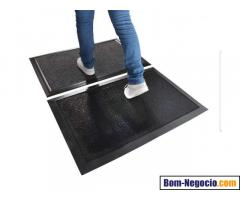Kit Tapete sanitizante e Duo para secar  100 cm x 70 cm