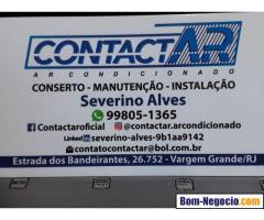 conserto instalação ar condicionado split freguesia jacarepagua