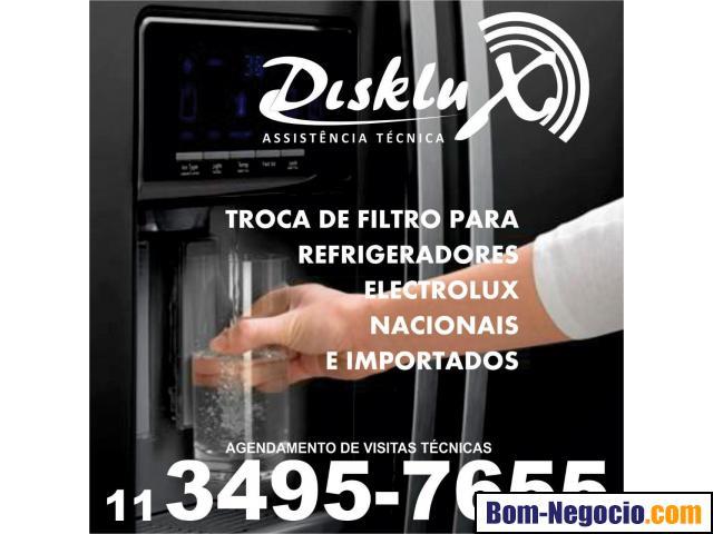 Manutenção em refrigerador