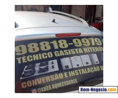 CONSERTO DE AQUECEDOR 98711-0835 TÉCNICO GASISTA NITERÓI RJ