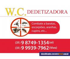 W.C Dedetizadora