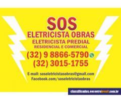 SOS ELETRICISTA OBRAS
