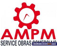 AM PM SERVICE OBRAS COMERCIAIS
