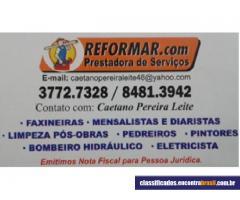 Caetano - Reformar Prestadora de Serviços