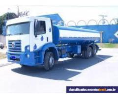 Entrega Água Potável Através de Caminhão Pipa