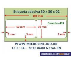 Vendo Etiqueta 50x30x02