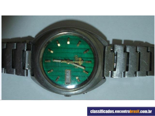 vendo relógio sitzen anos 70
