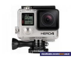 Vendo Filmadora Go Pro Hero 4 Silver