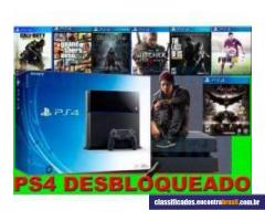 Vendo Playstation 4 - Hd 2 Teras com 60 Jogos