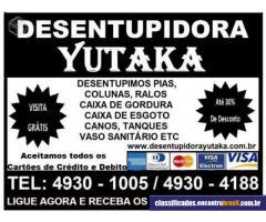 Desentupidora & Dedetizadora Yutaka