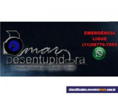 Omar Desentupidora 24 horas