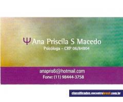Psicologa Clinica