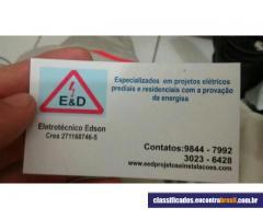 Eletricista Edson