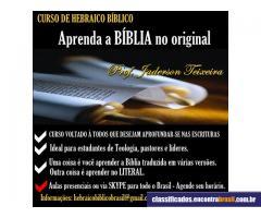 Aulas de Hebraico Bíblico