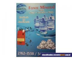 Fonte Mineral - Entrega Água