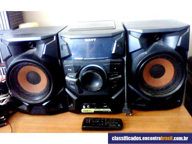 97e8cb855 Vendo Mini System Sony Genezi MHC-EX66 Paulista - Bom-Negocio.com ...