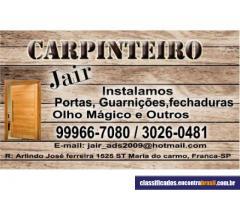 Carpinteiro Jair