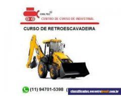 CivilTec - Curso de operador de retroescavadeira