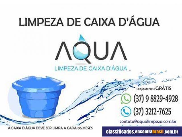 Aqua Limpeza de caixa d' água