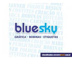 blue sky grafica