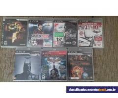 Vendo Playstation 3 com 1 controle + 7 jogos