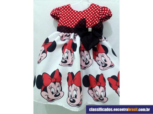 Vendo Vestido Minnie Infantil