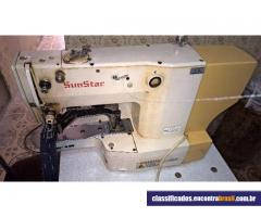 Vendo Maquina De Costura Travete Sunstar